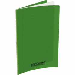 CAHIER POLYPRO VERT 24x32 90G 48 PAGES SEYES CONQUERA 400006763