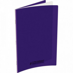 CAHIER POLYPRO VIOLET 24x32 90G 96 PAGES SEYES 100105481
