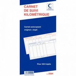 BLOC SPIRALE 'CARNET DE SUIVI KILOMETRIQUE' 502 297x140 ELVE 2094