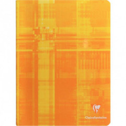 CAHIER CLAIREFONTAINE PIQURE 17x22 96 PAGES 5x5 90G 3742C