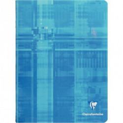 CAHIER CLAIREFONTAINE PIQURE 24x32 96 PAGES SEYES 90G 63361C
