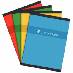 CAHIER PIQURE 24x32 70G 192 PAGES SEYES CONQUERA 7498C
