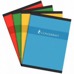 CAHIER PIQURE 24x32 70G 96 PAGES SEYES CONQUERANT100100600