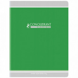 CAHIER PIQURE VERNIS 17x22 90G 96 PAGES SEYES PEFC CLAIREFO 100104282