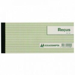 CARNET A SOUCHE 'RECU' 89X210 50 FEUILLETS 10E