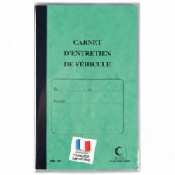 CARNET ENTRETIEN DE VEHICULE 210X130 32P MEMENTO+LEGISLATION ELVE 28