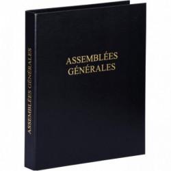 CLASSEUR REGISTRE ASSEMBLÉES GÉNÉRALES