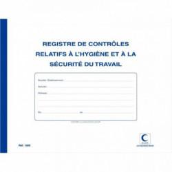 REGISTRE CONTRÔLE TECHNIQUE DE SÉCURITÉ ELVE 20P 1469