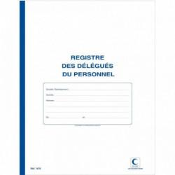 REGISTRE DÉLEGUÉ DU PERSONNEL 40P 32X25CM ELVE 1470