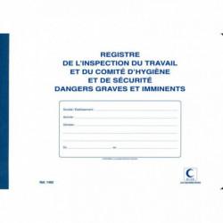 REGISTRE INSPECTION DU TRAVAIL ET COMITÉ HYGIÈNE ET SÉCURITÉ ELVE 1465