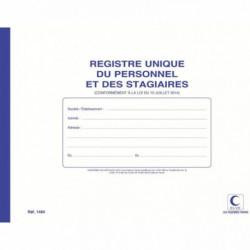 REGISTRE UNIQUE INSCRIPTION DU PERSONNEL 52P ELVE 1464
