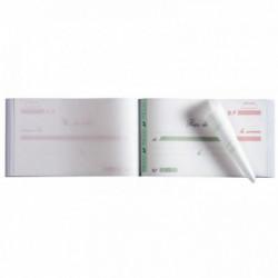 MANIFOLD AUTOCOPIANT 'RECU' 105X180 50/2 23170E