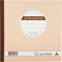 MANIFOLD LIVRAISONS NCR 21 X 21 CM 50 DUPLICATAS
