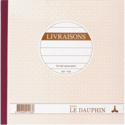 MANIFOLD LIVRAISONS NCR 21 X 21 CM 50 TRIPLICATAS