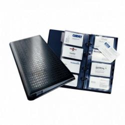 RELIURE VISIFIX CENTIUM NOIR 200 CARTES DE VISITE DURABLE 2403-01