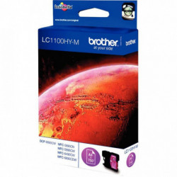 LC1100HYM CARTOUCHE HAUTE CAPACITE ENCRE ROUGE LC1100HYM 750P P/BROTHER