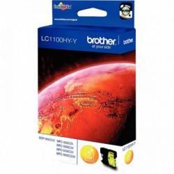 LC1100HYY CARTOUCHE HAUTE CAPACITE ENCRE JAUNE LC1100HYY 750P P/BROTHER