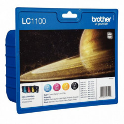 LC1100VALBP PACK 4 CART 450 PAGES + (3X325) PAGES BLIS PACK RAINBOW+BK B
