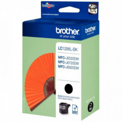 LC129XLBK CART. JE P/BROTHER LC129XLBK NOIR 2400 PAGES BROTHER