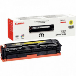 6269B002 TONER P/CANON YELLOW CRG731 1500 PAGES P/CANON
