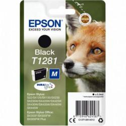 C13T128140 CART P/EPSON T1281 J.E PR STYLUS SX420W-SX130 NOIR 185 PAGES EPSON