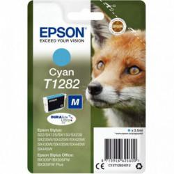 C13T128240 CART BLEUE P/EPSON T1282 J.E PR STYLUS SX420W-SX130 260 PAGES EPSON