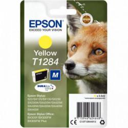 C13T128440 CART P/EPSON T1284 J.E PRSTYLUS SX420W-SX130 JAUNE 260 PAGES EPSON