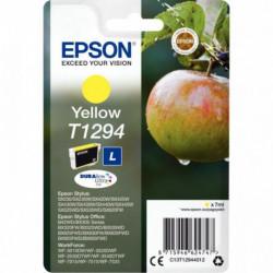 C13T129440 CART. EPSON J.E C13T129440-T1294 PR STYLUS SX420W JAUNE (CAPACITE STA