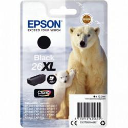 C13T26214010 CART P/EPSON 'OURS POLAIRE' CLARIA NOIR XL EPSON 500 PAGES