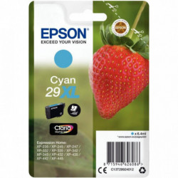 C13T29924010 /CARTOUCHE P/EPSON 29XL CLARIA HOME Cyan (XL) PR EXPRE