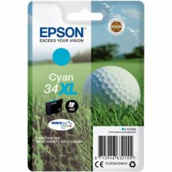 C13T34724010 CARTOUCHE EPSON Singlepack Cyan 34XL DURABrite Ultra Ink 950 P