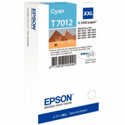 C13T70124010 CART P/EPSON CYAN 3400 P C13T701240 - T7012 EPSON
