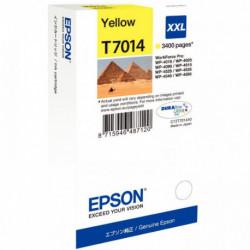 C13T70144010 CART P/EPSON JAUNE 3400P C13T701440 - T7014 EPSON