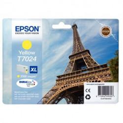 C13T70244010 CART P/EPSON JAUNE 2000P C13T702440 - T7024 EPSON