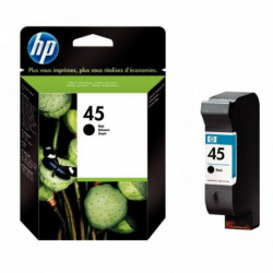 51645AE CART HP ENCRE NOIR - 42 ML H.P 51645AE- 45 830P HP