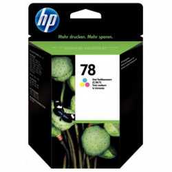 C6578DE HP CART ENCRE 3 COULEURS 19 ML C6578DE - 78  450P HP