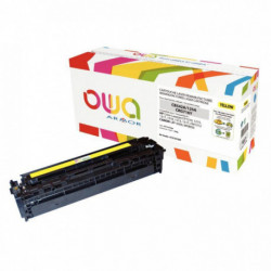 CB542A TONER JAUNE LASER P/CANON 1500 PAGES PAGES OWA ARMOR