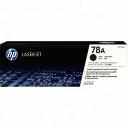 CE278A-78A TONER LASER HP CE278A 78A pour LaserJet P1566/P1606/M1536 2100p. NOIR