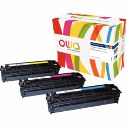 CF210A CARTOUCHE PACK 3 LASER Color Laserjet HP 131A CRG731 Pro200 M251, M276 K3