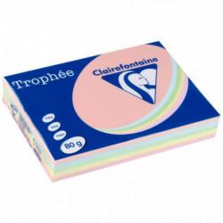 PAPIER REPRO TROPHEE A3 PANACHE PASTEL 80G RTE 500 1707C