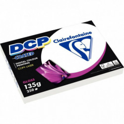 PAPIER DCP 6841 COATED GLOSS A4 135G EXTRA BLANC BRILLANT RECTO/VERSO RAMETTE 25