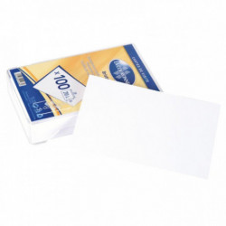 CARTES DE VISITE 82x128MM BTE 100 COURONNE 1468
