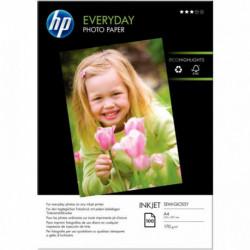 PAPIER PHOTO BRILLANT HP EVERYDAY 100 FEUILLES A4 (Q2510A) Q2510A