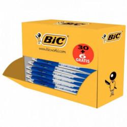 STYLO ATLANTIS BLEU CLASS PACK 30+6 OFFERTS BIC 920286