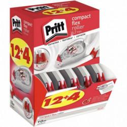 BOX DE 12 + 4 GTS DE CORRECTION PRITT ROLLER COMPACT 4.2MM PRITT 2111960