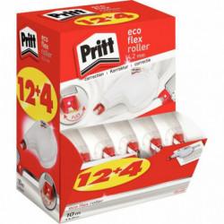 BOX de 12 + 4 GTS Pritt Correction Roller ECOflex 4,2mmx10m 2330510