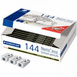 NORIS ECO 180 30 - CLASSPACK CARTON 144 CRAYONS GRAPHITE WOPEX HB + 3 TAILLE-CR