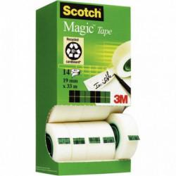 RUBAN SCOTCH® MAGIC™ 19MM x 33M TOUR 12 RLX DONT 2 GRATUITS BP032