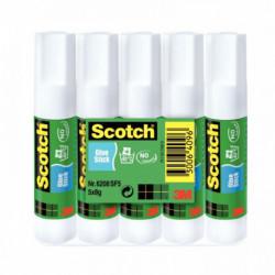 COLLE SCOTCH 8GR LOT DE 5 BATONS SCOTCH 85372