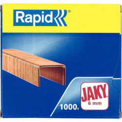 AGRAFES RAPID JAKY 6MM 30F BTE 1000 11720002